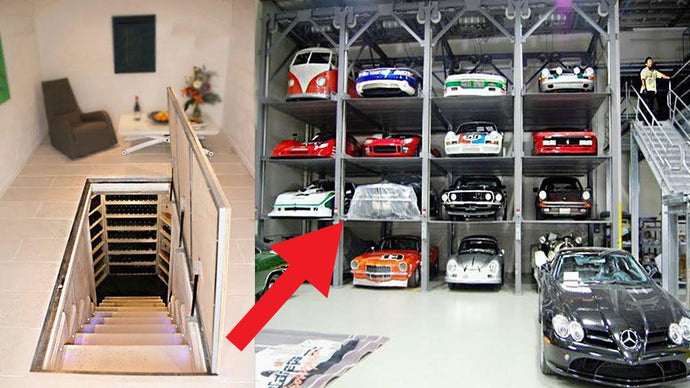 Touring 6 Unbelievable Garages, One Even Has an Elevator!
