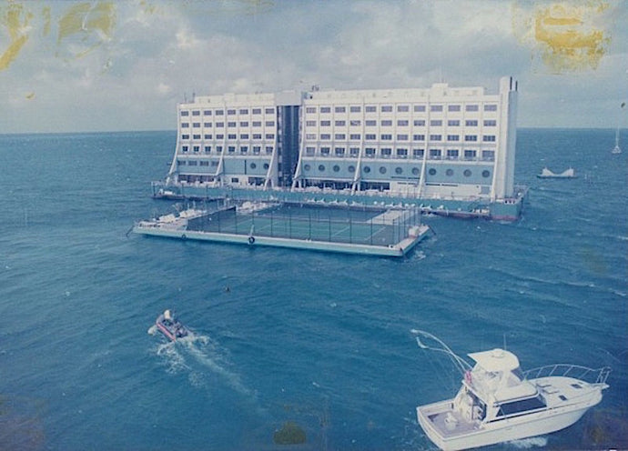 The World's First Floating Hotel is Sitting Abandoned in North Korea