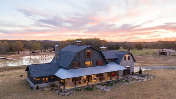 Home of the Month Fuses Barn Life With a Surprising Luxury Interior