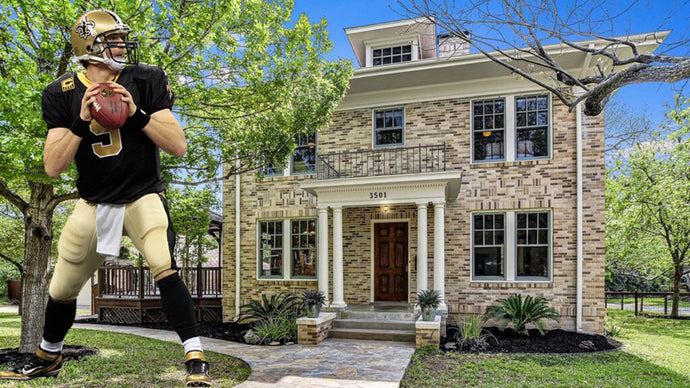 Childhood Home of Drew Brees Hits the Market