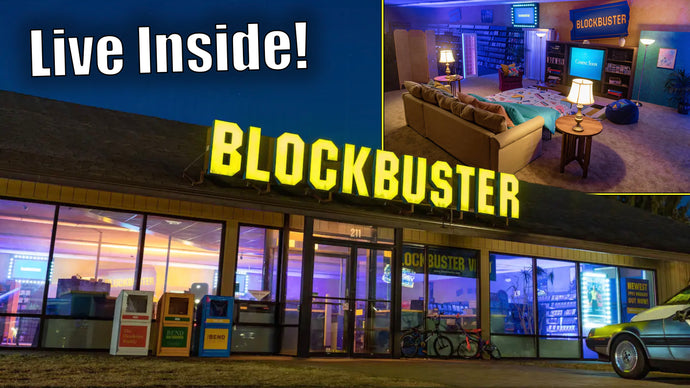 World's Last Blockbuster Converted to 90s Hangout Available to Rent on AirBnB