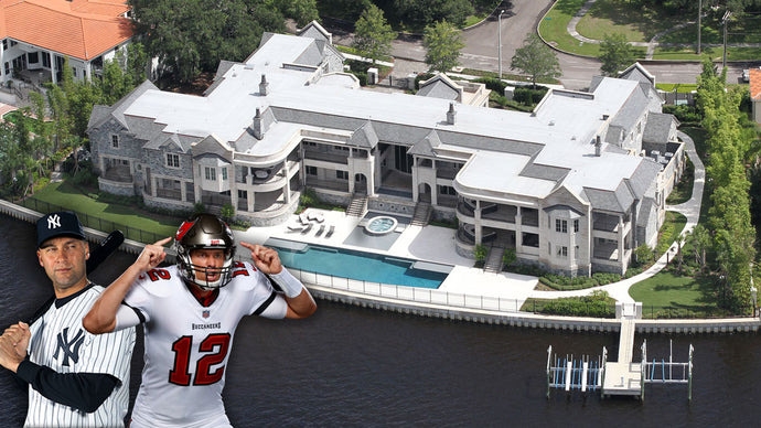 Derek Jeter Just Listed his $29 Million Mansion That Tom Brady is Living In!