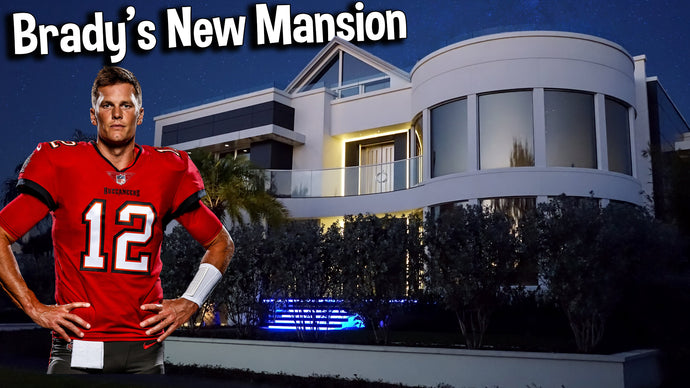 Following Super Bowl Win, Tom Brady Just Picked up Another New Mansion - Let's Tour It! (2021 VIDEO)