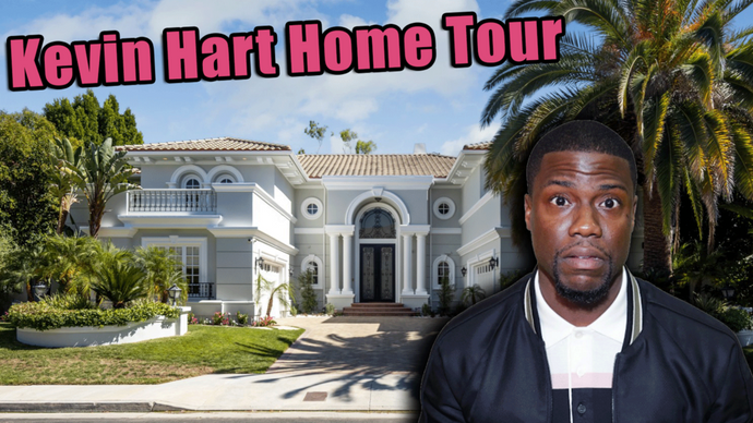 Touring Kevin Hart's Mega Mansion