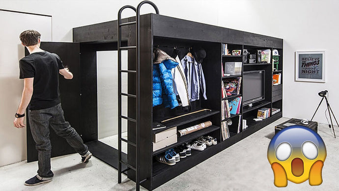 Incredible Space Saving Furniture to Maximize Small Spaces