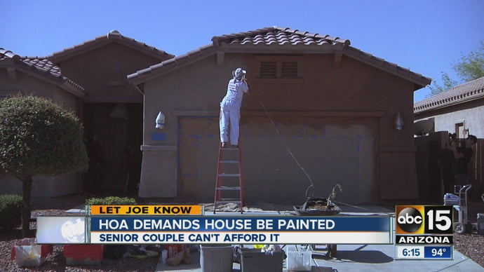 HOA Demands Seniors Living on Social Security to Take on Expensive Painting Project