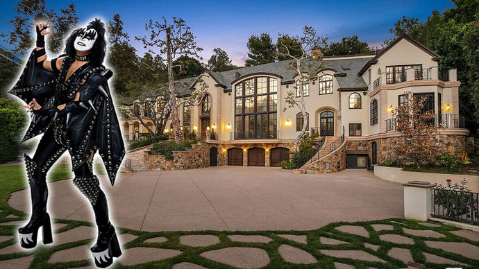 Gene Simmons is Bailing Out of Beverly Hills, Lists Mansion at $22 Million