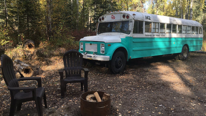 """Into the Wild"" Tribute Bus Now an Airbnb Stay"