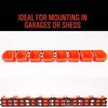 Load image into Gallery viewer, Wall Mountable Storage Bins - Durable ABS Construction