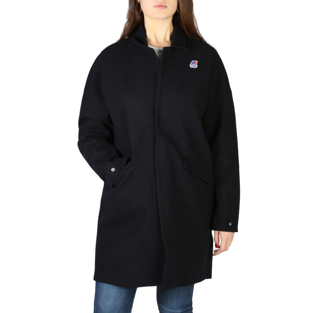 K-Way - Cappotto Donna In Lana