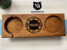 Load image into Gallery viewer, Chicago Fire Department Ash Tray Coaster