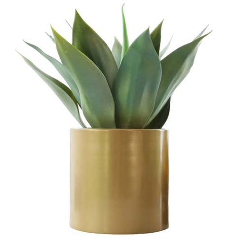 agave artificiel en pot