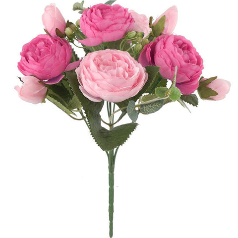 bouquet de pivoine rose