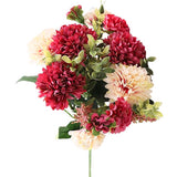 bouquet de pivoine rouge