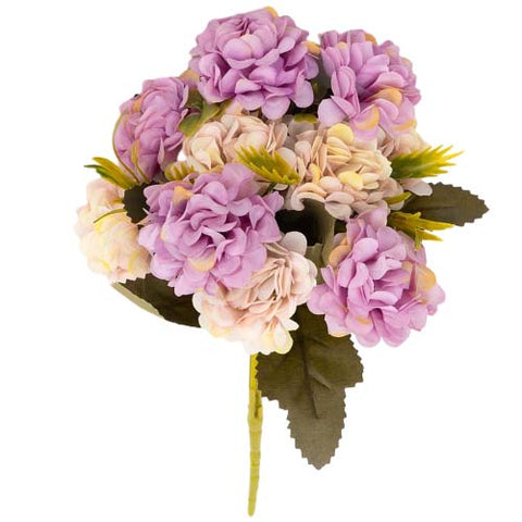 bouquet hortensia artificiel