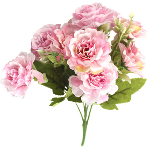 bouquet pivoine artificielle