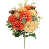 bouquet pivoine orange