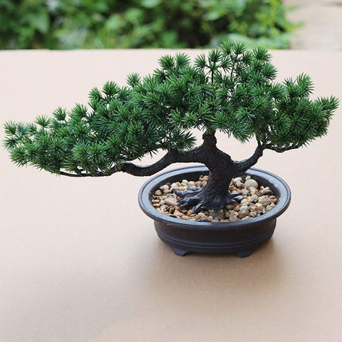 faux bonsai