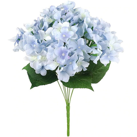 hortensia bleu artificiel