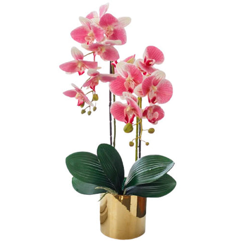 orchidée artificielle en pot