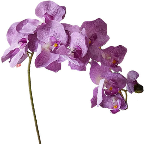 orchidée artificielle violette