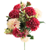 pivoine rouge bouquet