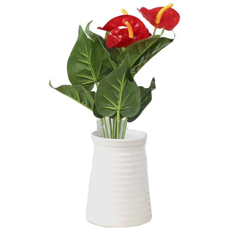 plante anthurium artificielle