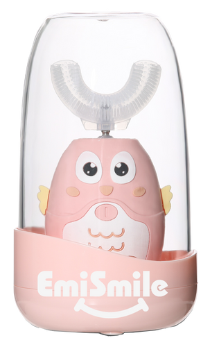 Most fun self cleaning Pink Chicken toothbrush for kids