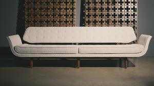 "Edward Wormley "" La Gondola "" Sofa for Dunbar, circa 1957"