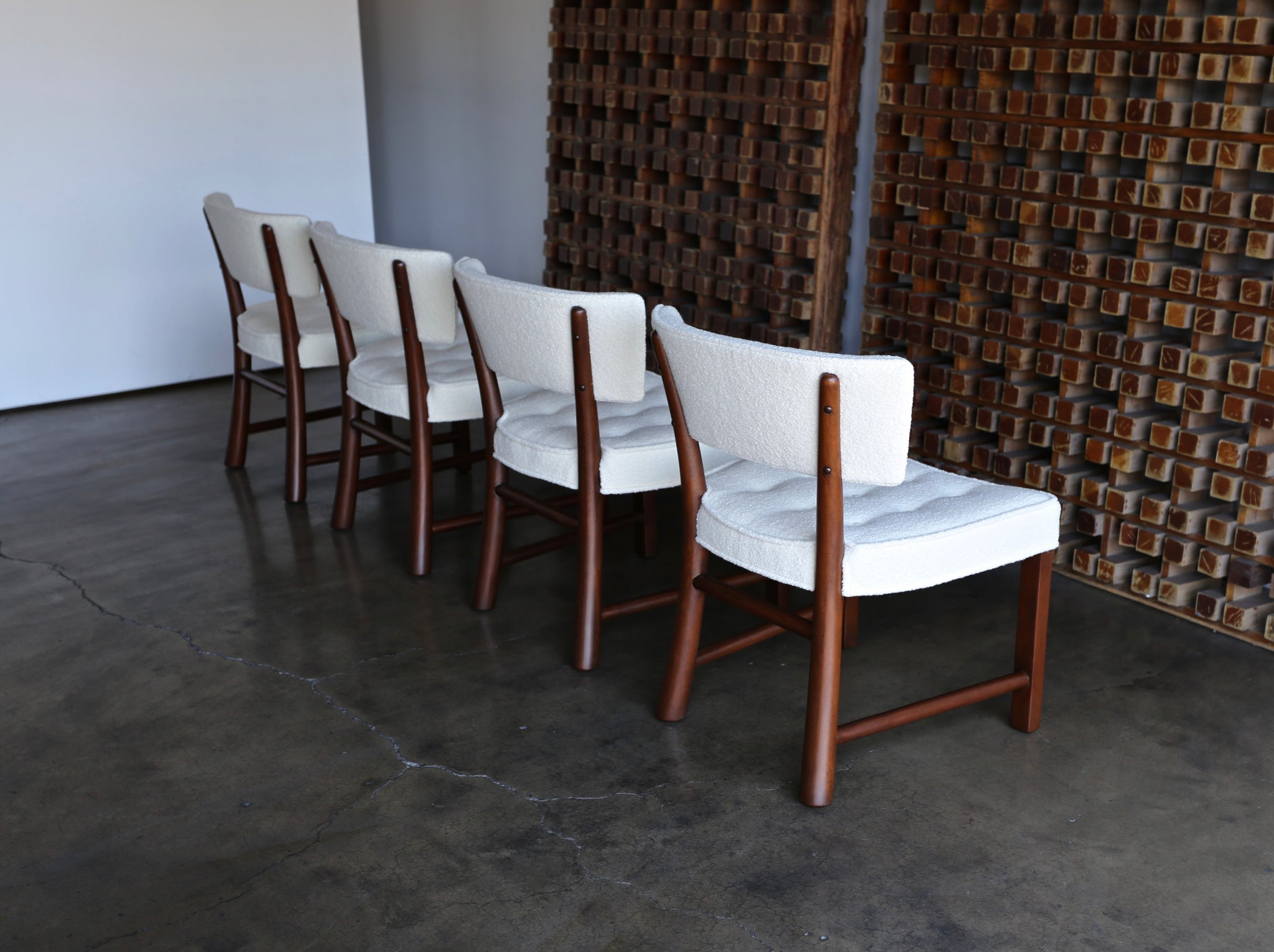 Edward Wormley Dining Chairs for Dunbar circa 1957