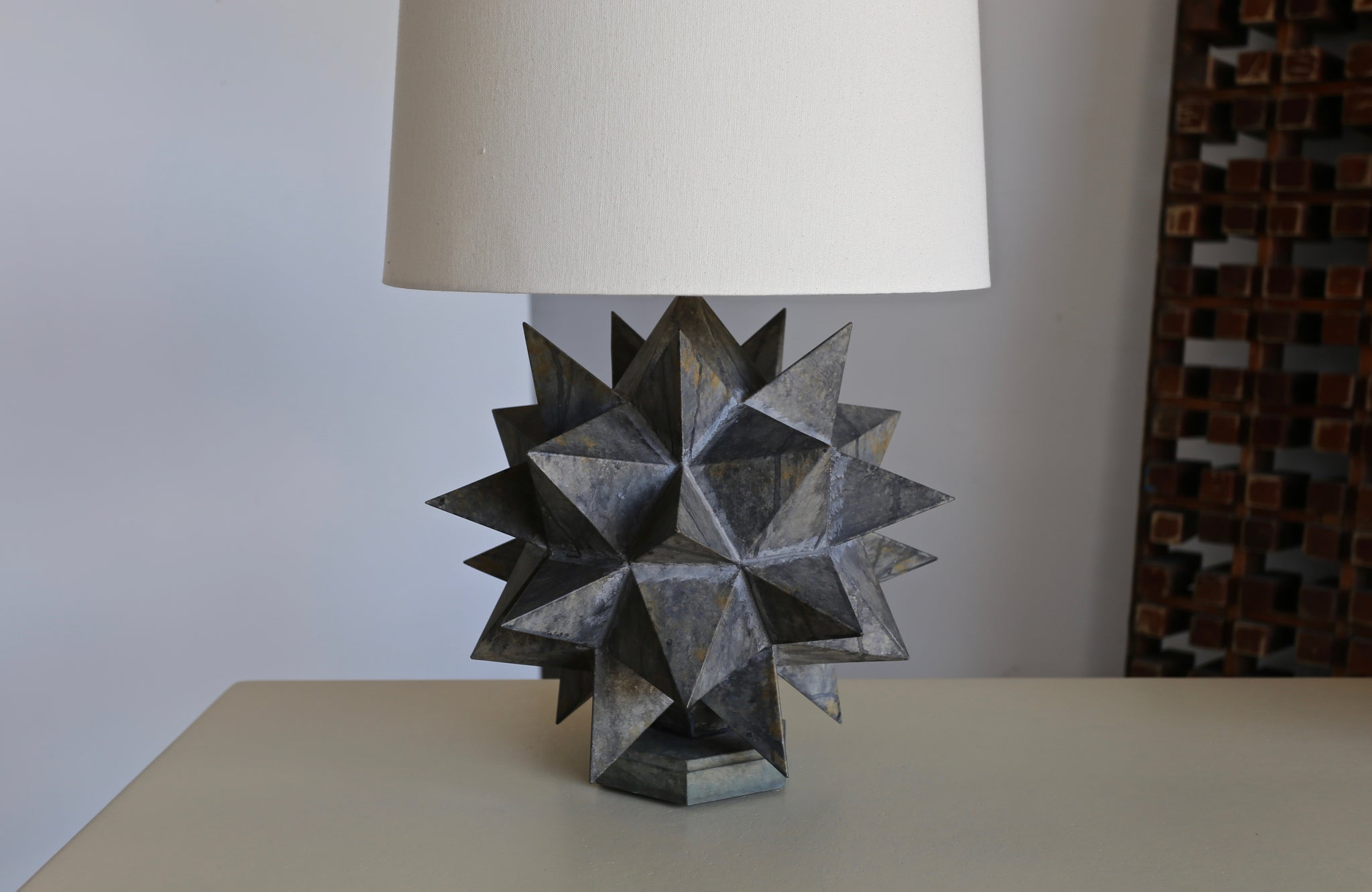 = SOLD = Sculptural Table Lamps, circa 1965
