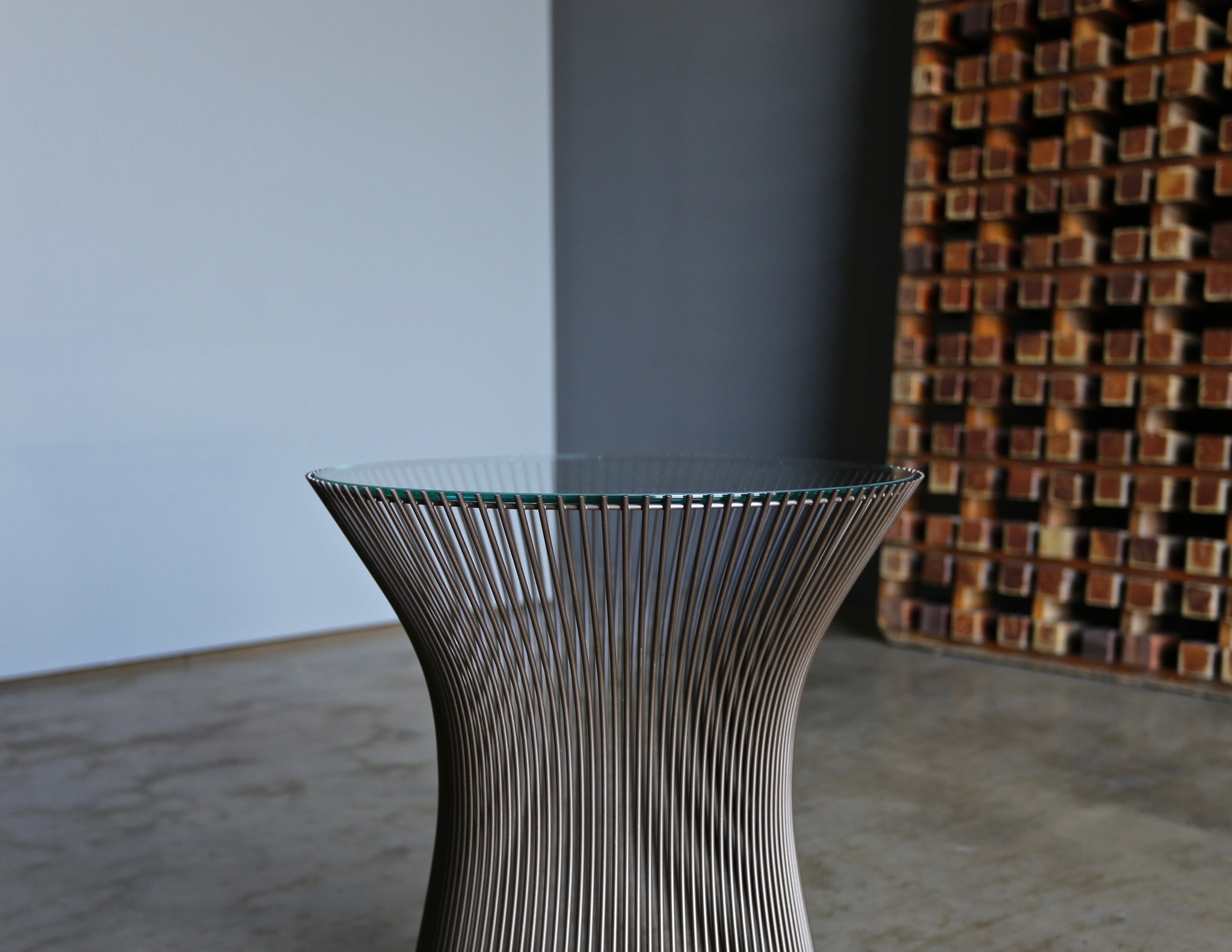 Warren Platner Bronze Side Table for Knoll, circa 1970