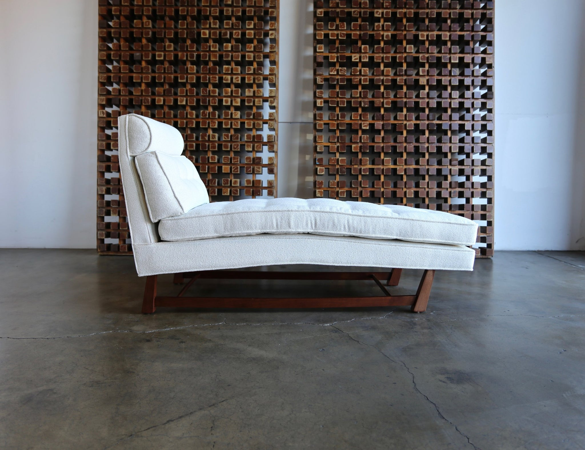 = SOLD = Rare Chaise Longue by Edward Wormley for Dunbar