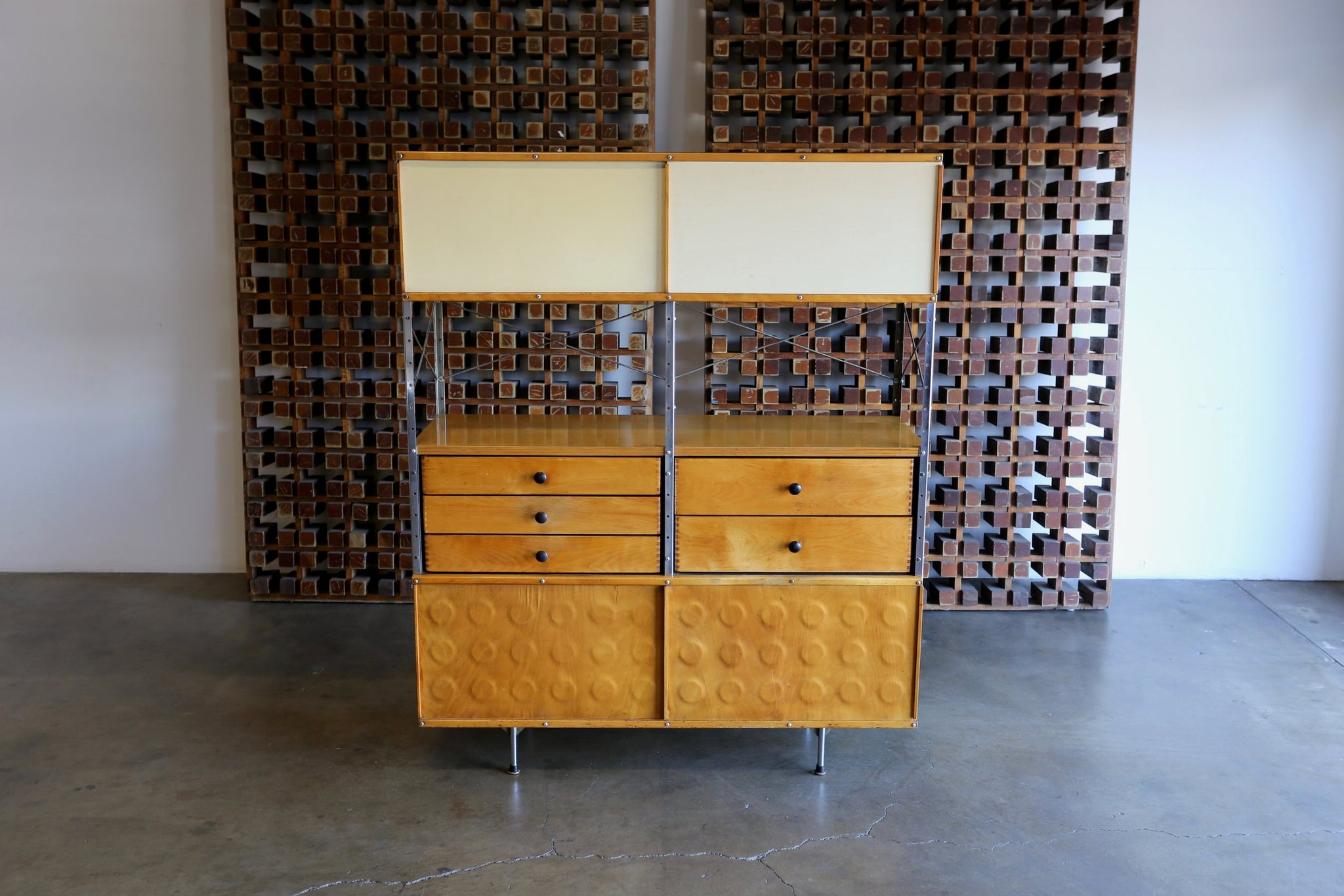= SOLD = Charles & Ray Eames Storage Unit ESU 400-N
