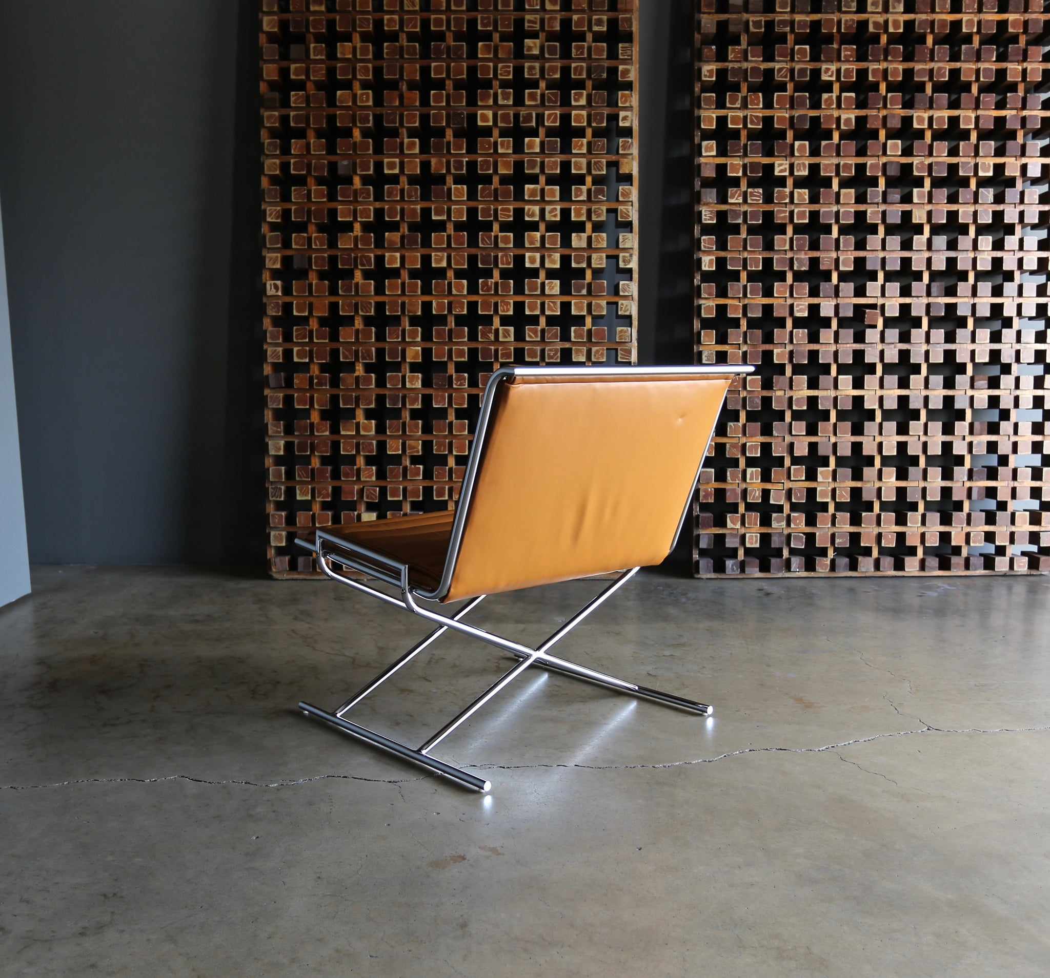 "= SOLD = Ward Bennett "" Sled "" Lounge Chair for Geiger"