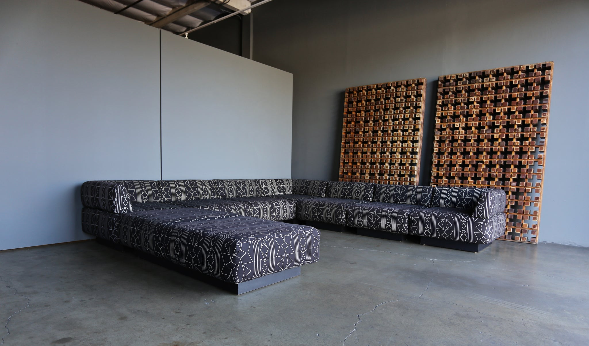 = SOLD = Harvey Probber Sectional Sofa circa 1970
