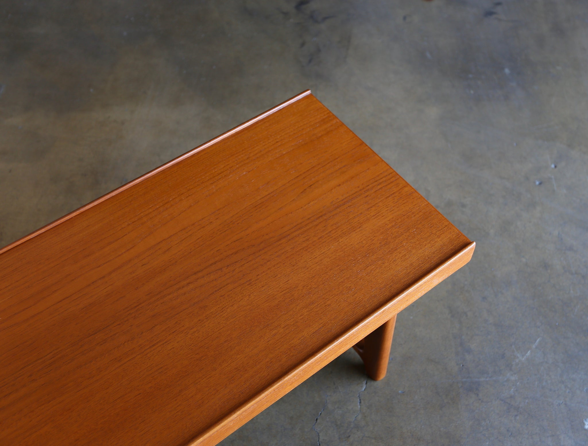 "Teak ""Krobo"" Bench by Torbjørn Afdal for Bruksbo circa 1960"