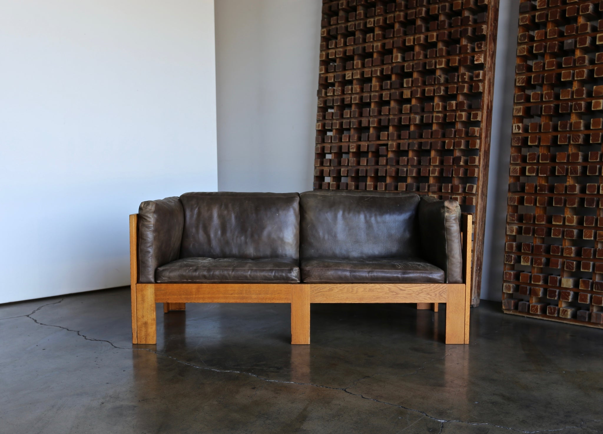 = SOLD = Tage Poulsen Pair of Sofas Model TP632, circa 1962