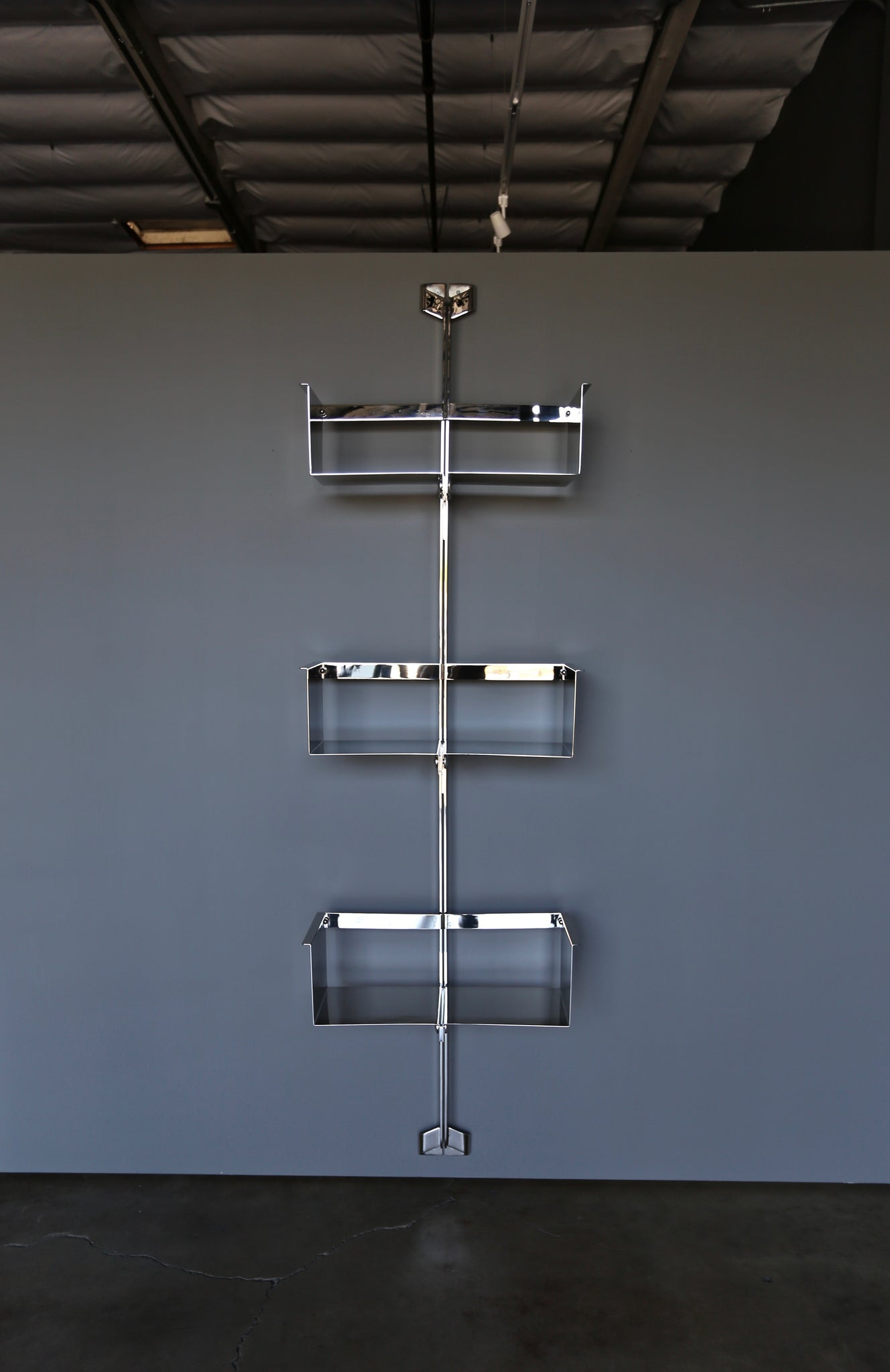 Vittorio Introini Shelving Unit for Saporiti Italy, circa 1969