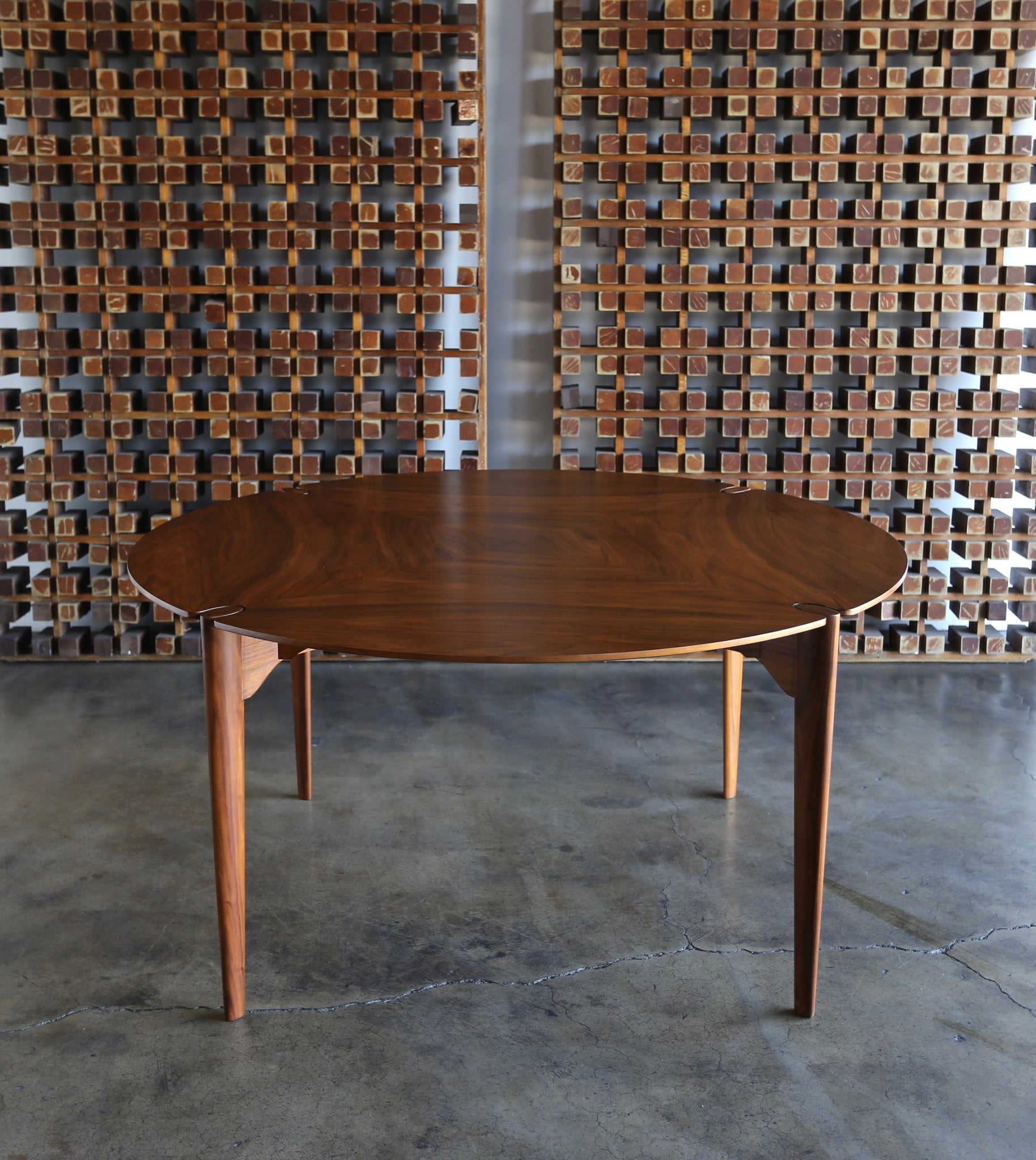 John Keal Dining or Game Table for Brown Saltman circa 1960
