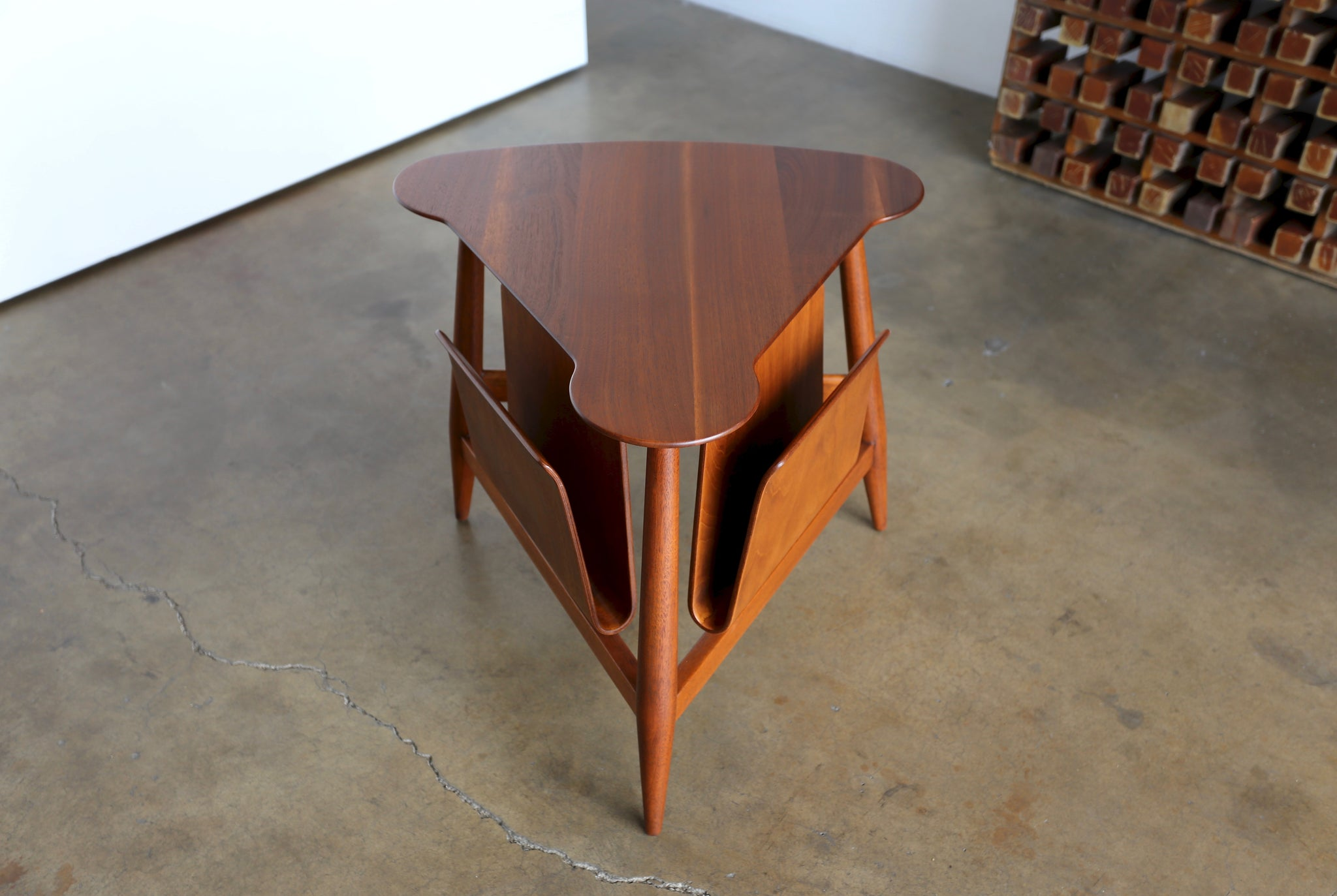 = SOLD = Edward Wormley Magazine Table Model 5313