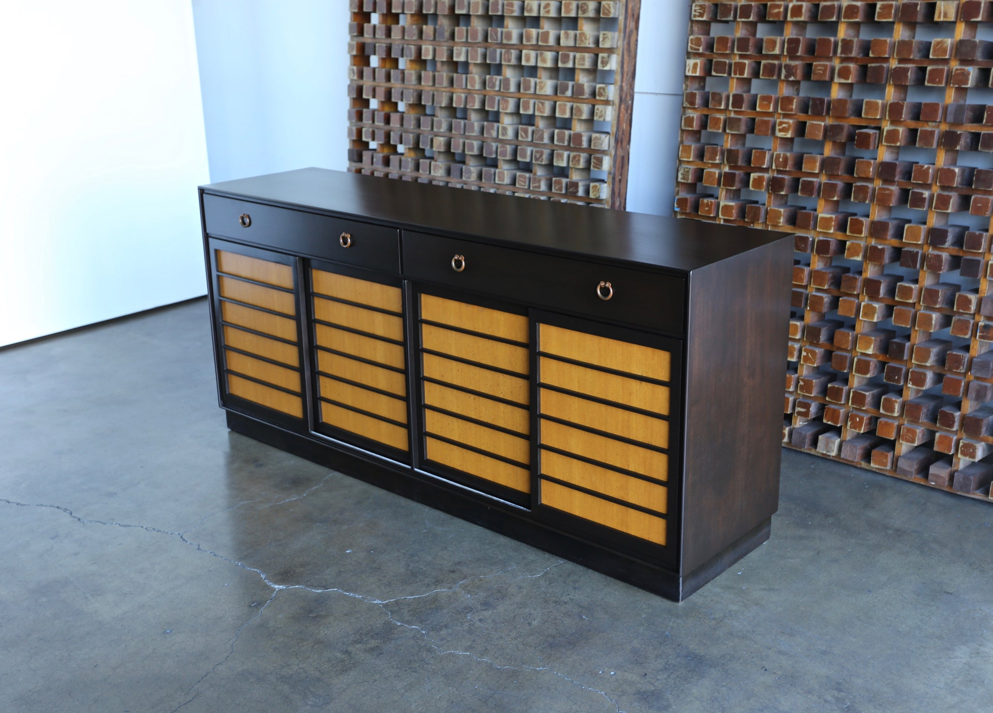 = SOLD = Edward Wormley Credenza for Dunbar circa 1955