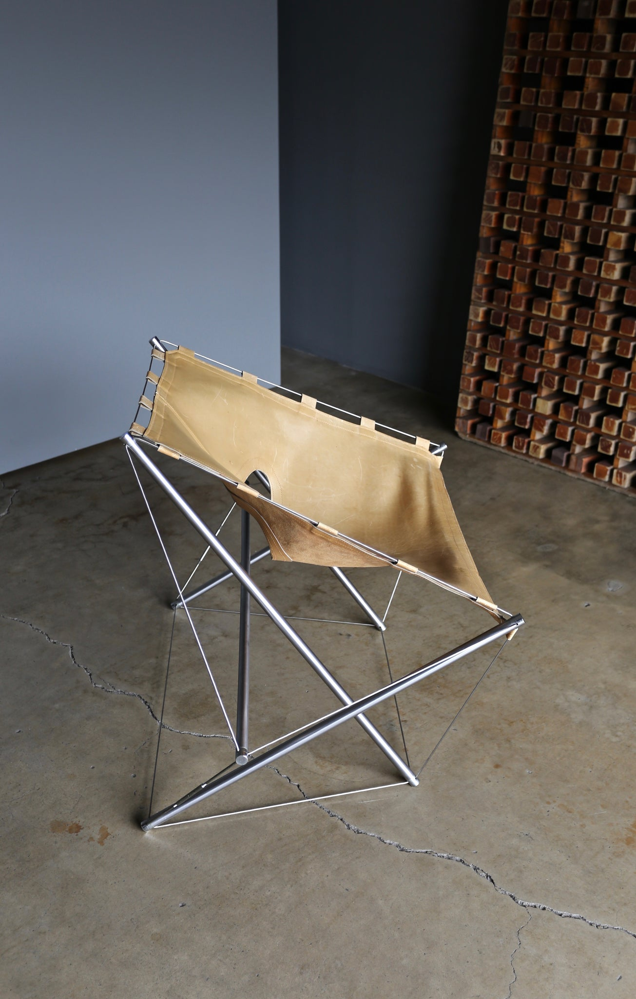 "= ON HOLD = Jacques Henri Varichon ""Galaxie"" Chair for Steiner, circa 1969"