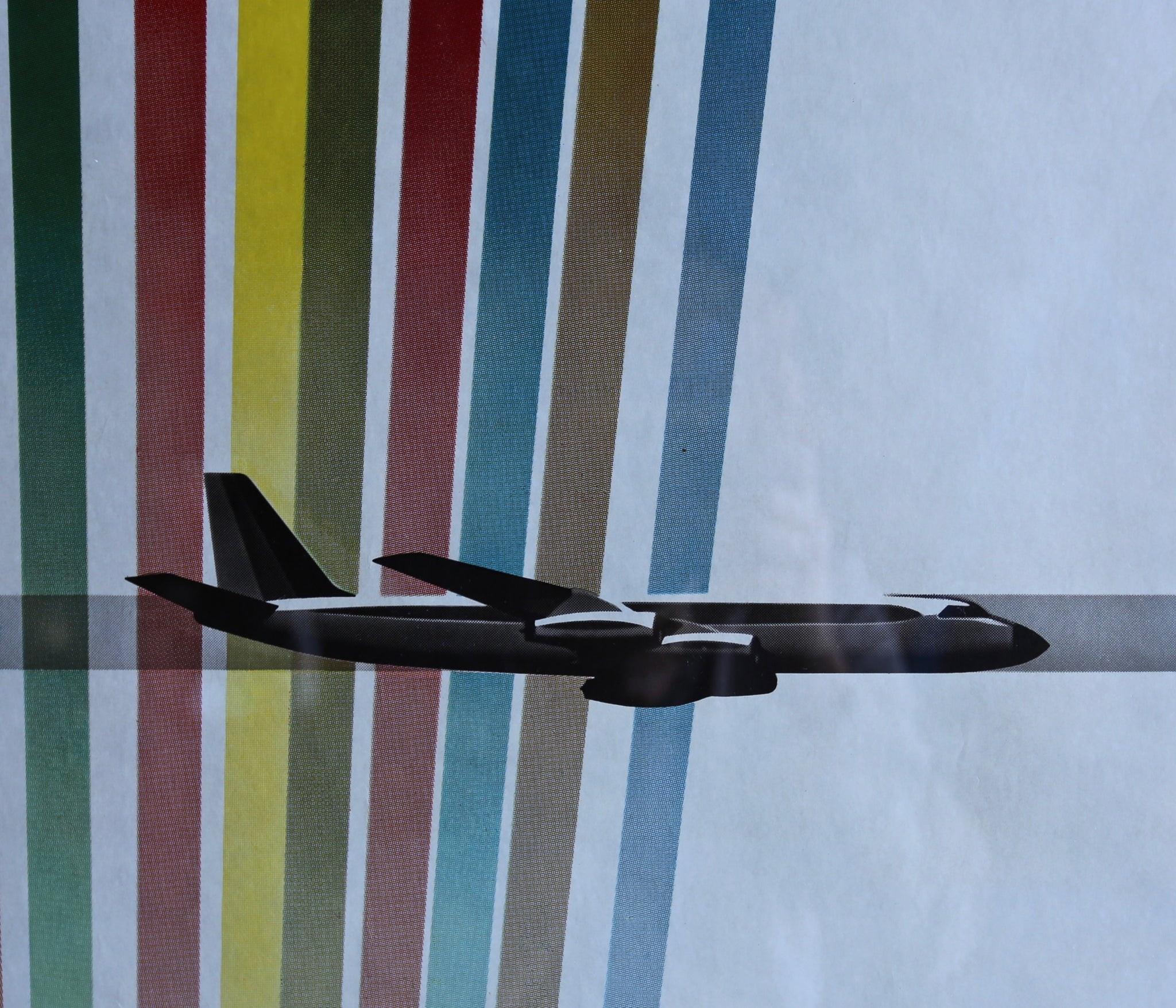 "= SOLD = Erik Nitsche "" Convair "" Poster for General Dynamics circa 1960"