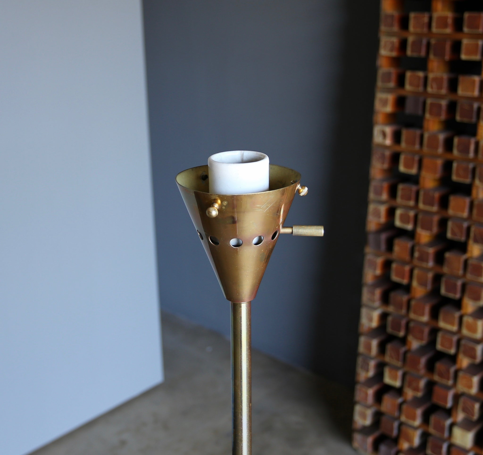 "Harry Weese "" Baldry "" Indirect Floor Lamp circa 1945"