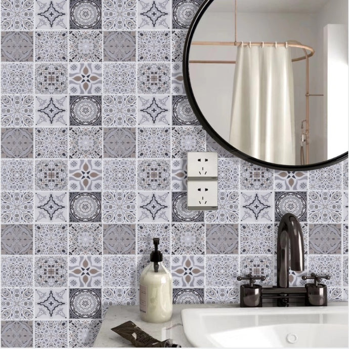spanish inspired peel and stick tiles