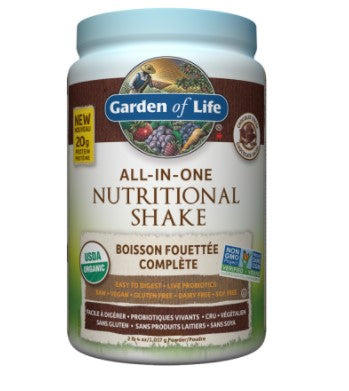 ORGANIC ALL IN ONE CHOCOLATE PROTEIN SHAKE