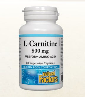 L-CARNITINE 500 MG (NATURAL FACTORS)