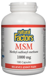 MSM 1000MG (NATURAL FACTORS)