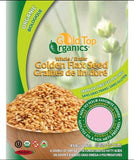 ORGANIC FLAX SEED GOLD WHOLE 454G